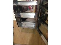 Aluminium light weight Mirrored cabinet for bathroom good condition. f