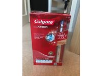 Colgate ProClinical C350 electric toothbrush with Max White One whitening bristles