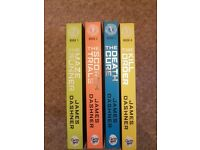Maze runner books by James Dashner