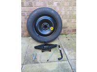Spare Tyre, Jack and Jack Tools for Ford Focus