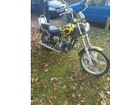 Road legal 50cc chopper..£350