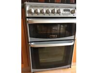 Cannon Hotpoint Harrogate freestanding, dual-fuel, double oven cooker