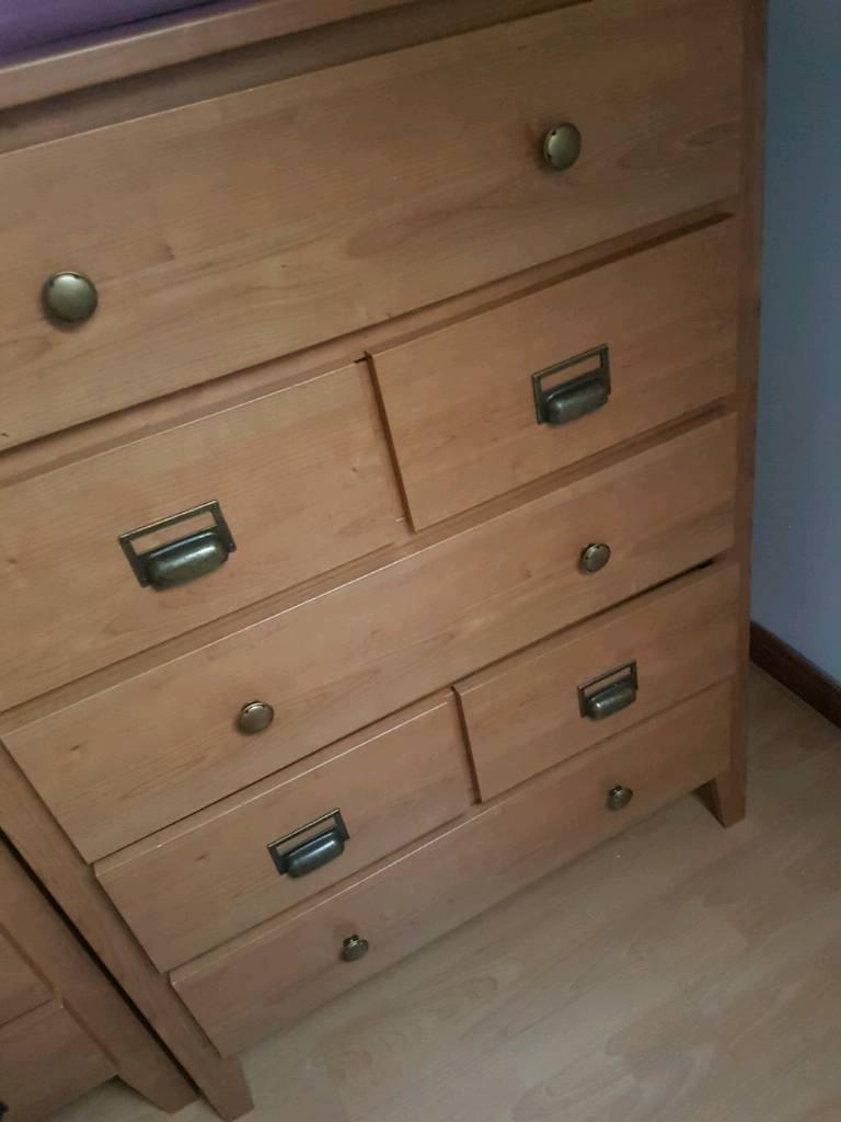 Bedroom furniture wardrobe drawers