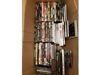Over 50 dvd /music cd