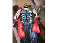 Thor costume with mask