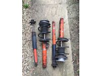 Bmw e46 koni springs front and rear
