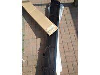Walnut wooden blind brand new 195cm wide