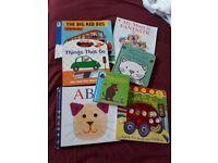 7 Children's books including 3 hardback books