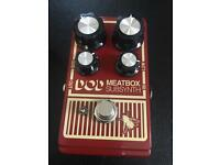 DOD meat box subsynth bass octave pedal