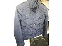 Jacket stradivarius navy blue size 10
