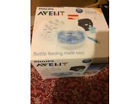 Phillips Avent bottles and cleaner