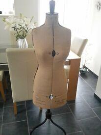 vintage pioneer dress makers dummy