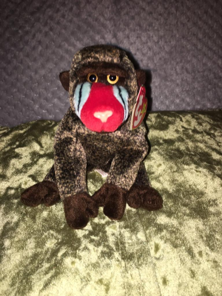 Beanie baby baboon  93c503a30f6