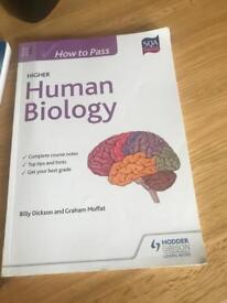 Higher Human Biology How to Pass