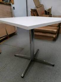 Square Table on cross stand