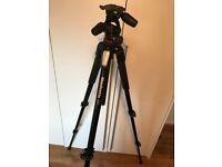 Manfrotto 055 Camera Tripod