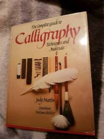 The Complete Guide to Calligraphy book