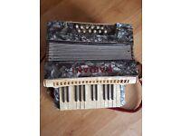 old and working mariani accordion