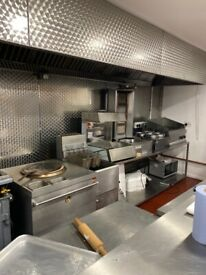 Fully fitted takeaway delivery business