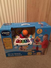 BRAND NEW vtech sit to stand music centre
