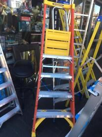 Fibreglass podium ladder