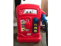Little tikes petrol pump and little tikes car