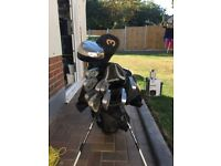 DDH GOLF CLUBS, COMPLETE SET WITH BAG