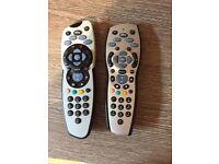 Sky TV remote controls