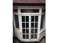 Timber framed patio door and windows