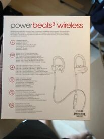 Brand new Powerbeats 3 Mint in box sealed