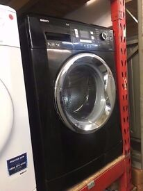 BEKO 9KG 1400 SPIN A+++ WASHING MACHINE BLACK RECONDITIONED