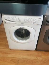 Hotpoint 7kg washing machine.(white).free local delivery