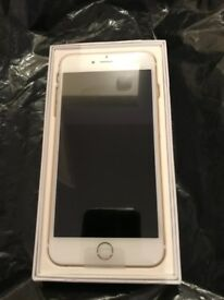 Unlock New iPhone 6plus Gold 128GB. No charger