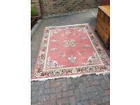 Large Chinese woollen rug