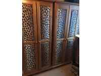 Solid wood wardrobes