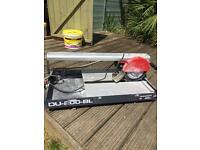Rubi tile wet cutter used a couple of time 240v