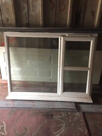 Double glassed window 62 inch by 42