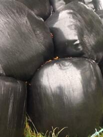 Round bales silage £25