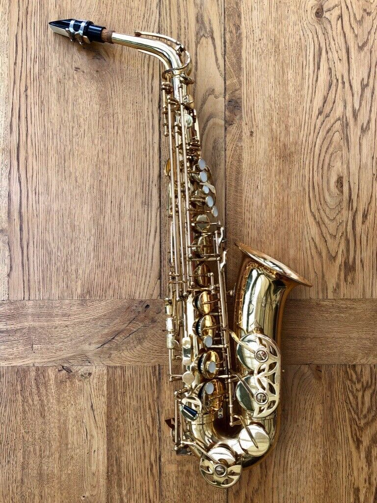 Lovely Mistral Alto Saxophone With Mouthpiece Musical Instruments & Gear