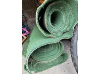3 ROLLS OF 4x2 metre Astro Turf (from hockey pitch) SUPERB CONDITION