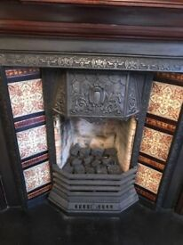 Original fireplace, all as pictured included to go