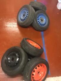 4x100/5x112 2 sets of rims best offer takes
