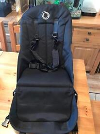 Bugaboo Cameleon 3 black seat fabrics with straps 2014