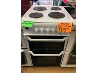 INDESIT 50CM SOLID TOP ELECTRIC COOKER