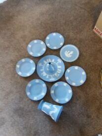 Wedgwood plates and vases