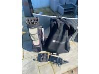Motocaddy S1 and cart bag