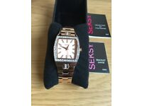 Seksy Ladies' 2081 Intense Rose Gold Plated Watch BRAND NEW ***WOW***