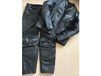 Alpinestar leather jacket and trousers