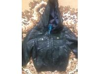 Boy leather jacket