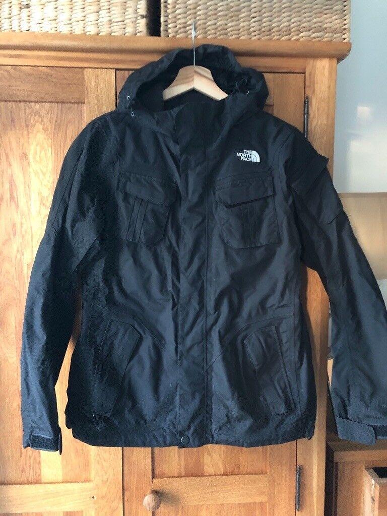 Ladies North Face Ski Jacket   Black Salopettes - Size Medium  b384d2180